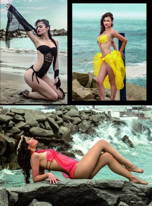 """Mermaid"" para Ohlala Swimwear"