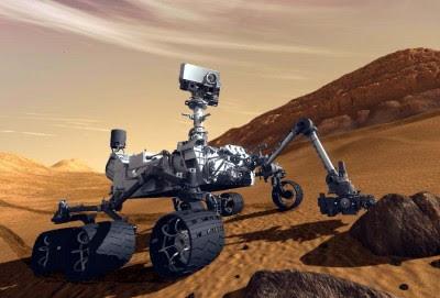 Curiosity a Marte