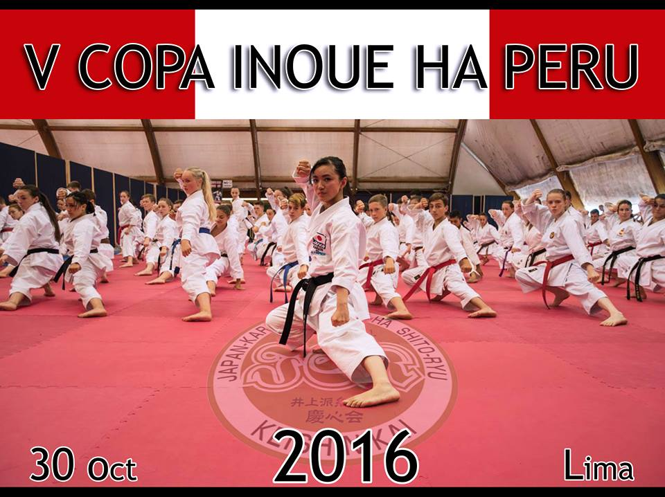 "CAMPEONATO DE KARATE ""V Copa Inoue Ha Peru"" Lima-Perù"