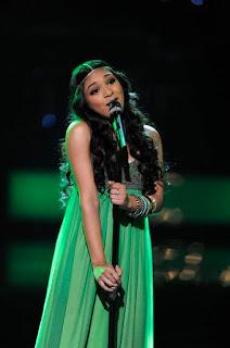 Mathai singing Ordinary People on The Voice