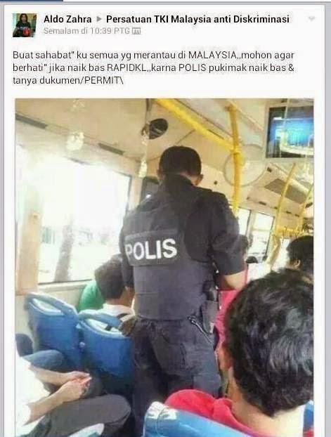 Mat Indon Diadap Gelar Polis P m k Di Facebook