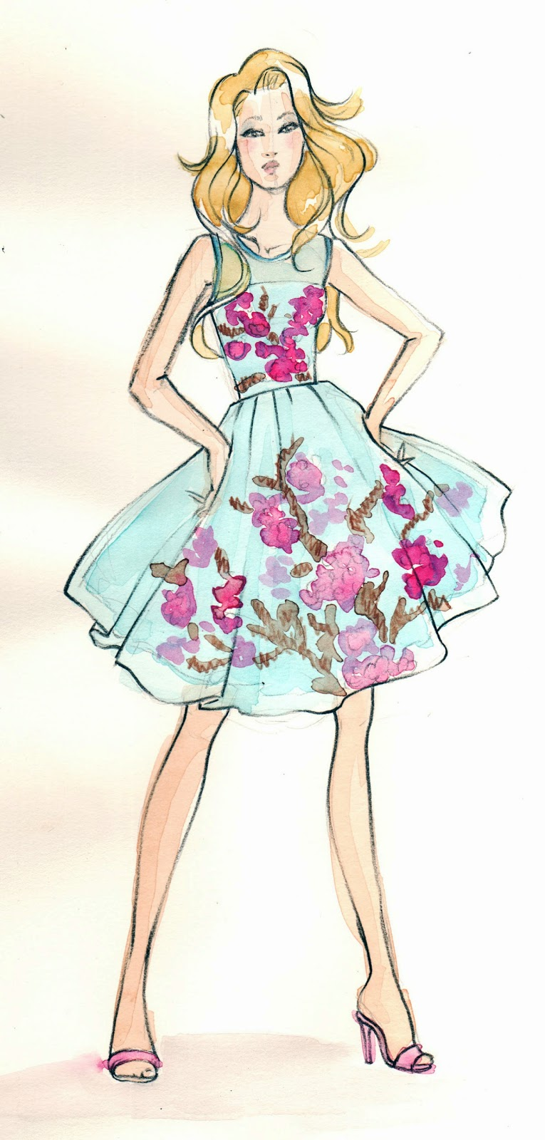 party-dress-illustration, party-dress