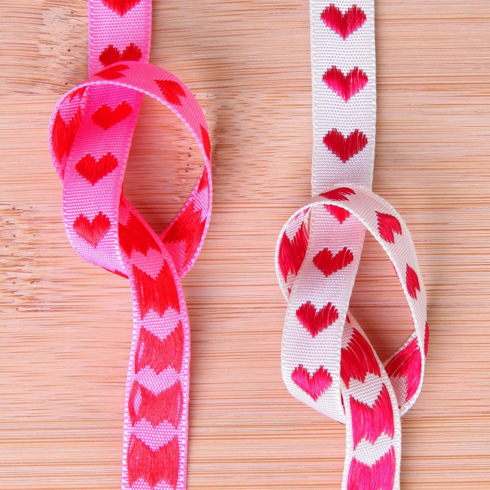 Pyntebånd med hjerter