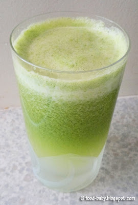 Super Green Juice © food-baby.blogspot.com All rights reserved