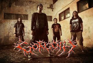 gorgoth band brutal death metal denpasar bali