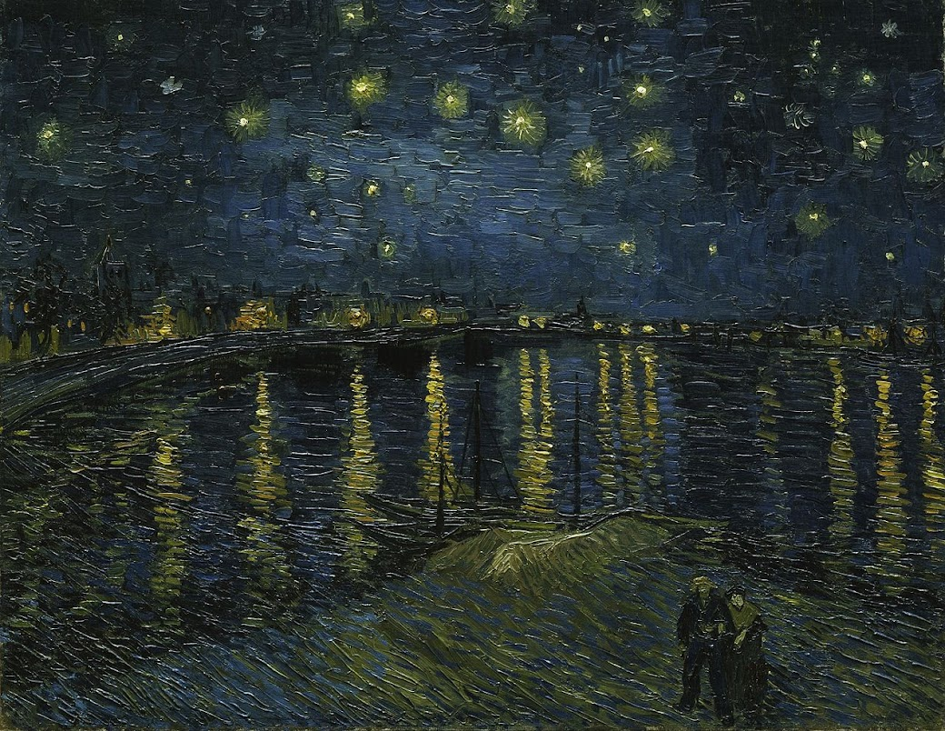 Starry Night at the Rhone