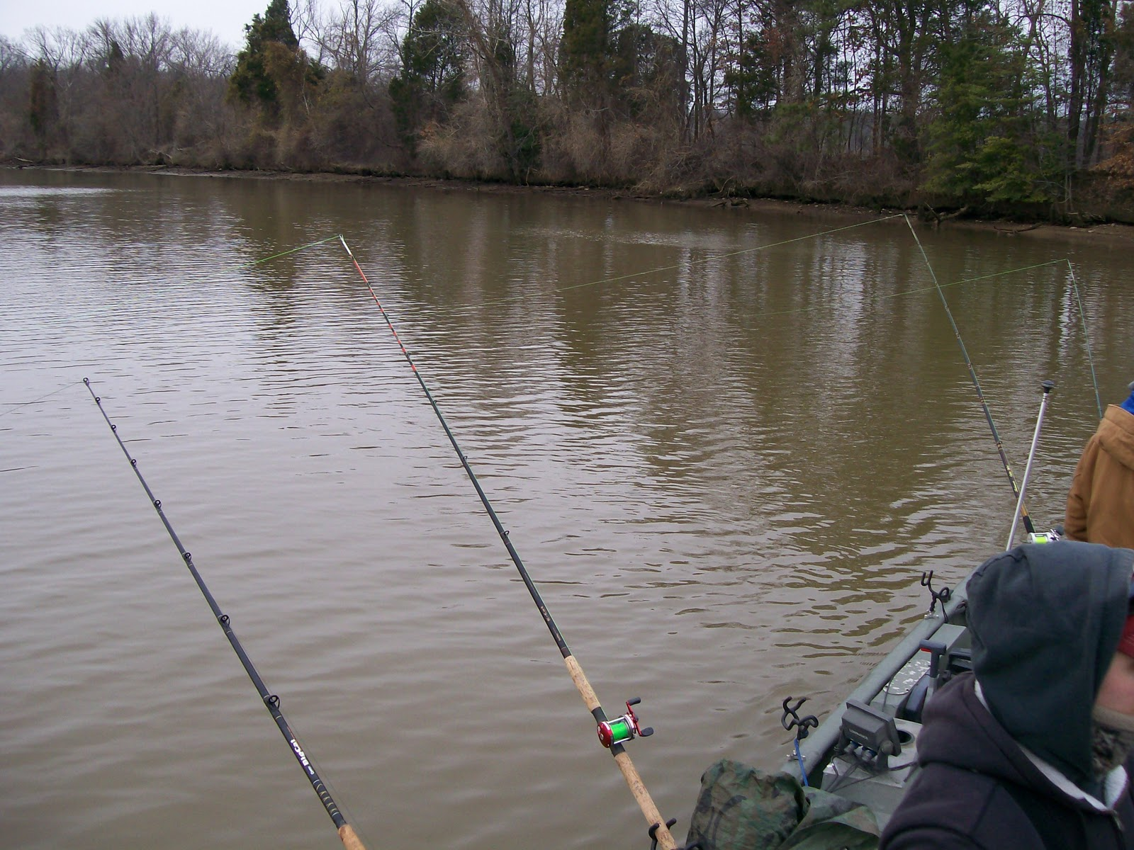 Get reel with catfishrollo a couple catfish freaks ready for James river fishing