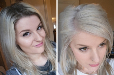 How I Bleach My Roots in 10 Steps | Robyn Mayday | UK Fashion and ...