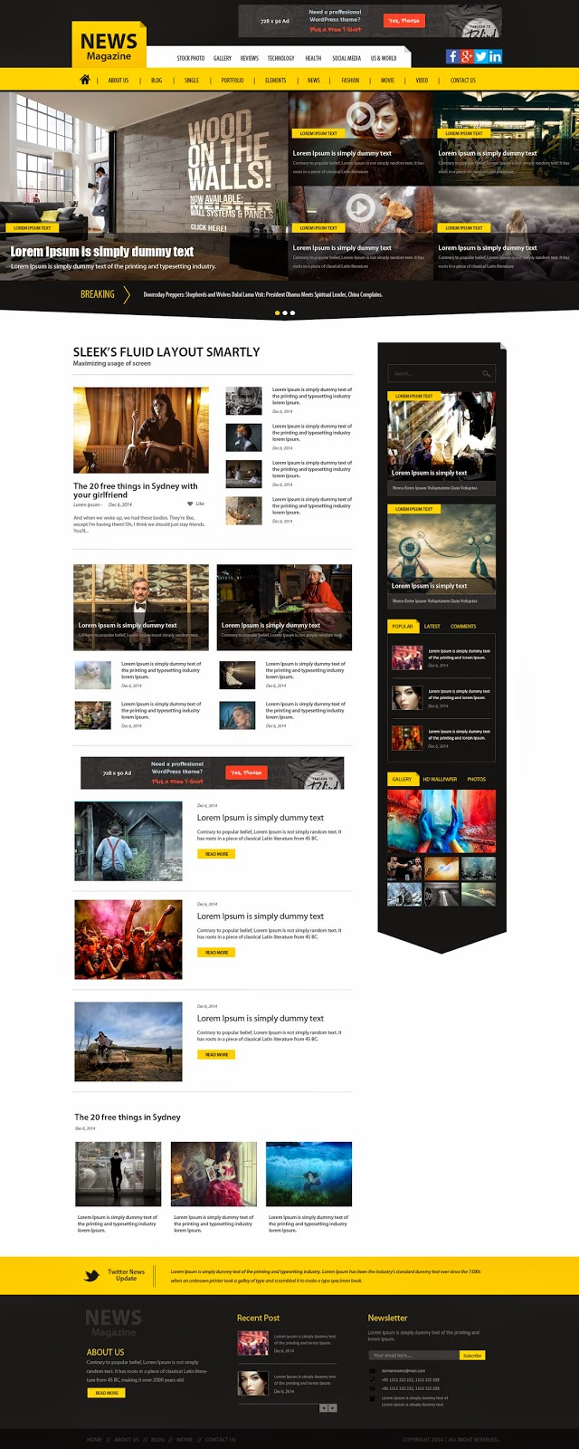 Website theme design image baditri Image collections