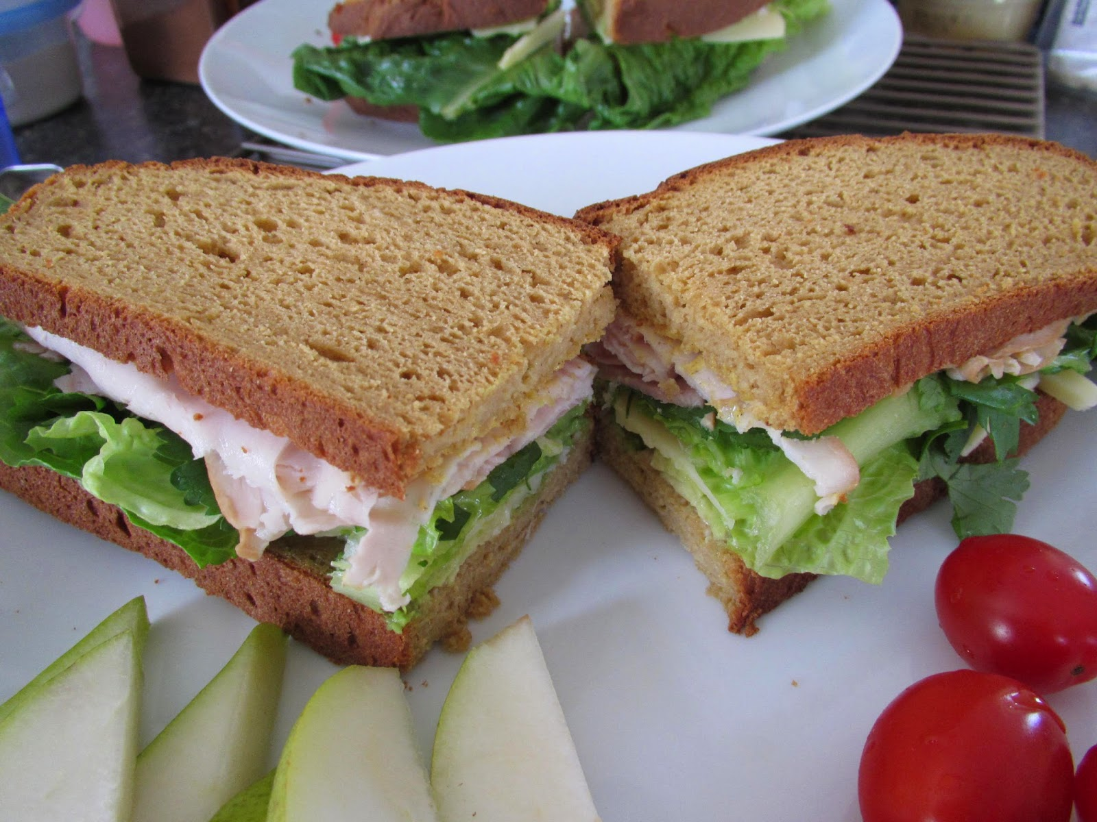 Gluten Free Rustic Brown Bread Sandwiches!