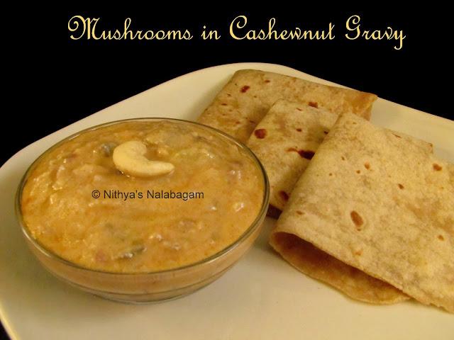 Mushroom Cashew Gravy
