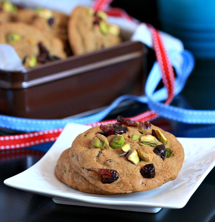 Cranberry Pistachio Cookies Jpg Recipes — Dishmaps