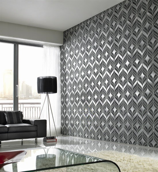 Wallpapers For Home Interiors; Interior Design Wallpaper; Home Decor  Wallpaper Ideas; Modern Interior