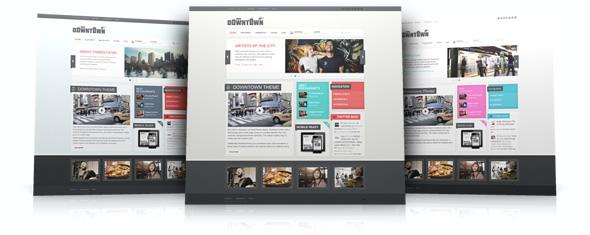 YT Downtown Theme for WordPress v1.0.9