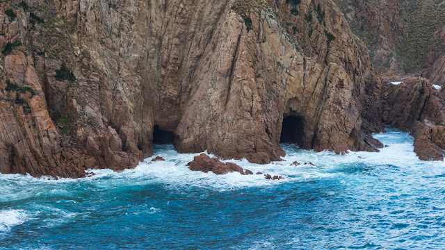 sea caves cape woolamai