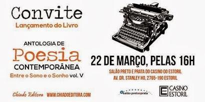 """Antologia de Poesia """"Entre o Sono e o Sonho"""" - Vol. V."""