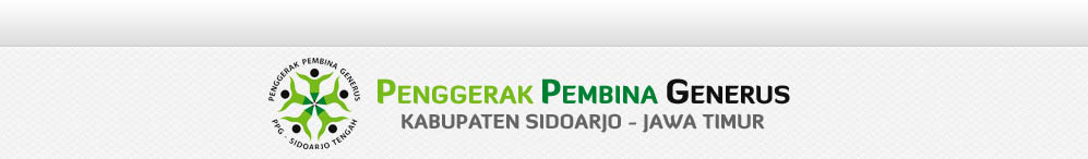 PPG | Penggerak Pembina Generus | Kabupaten Sidoarjo Jatim