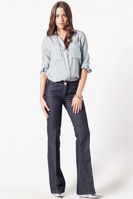 Diago mavi pantolon batik