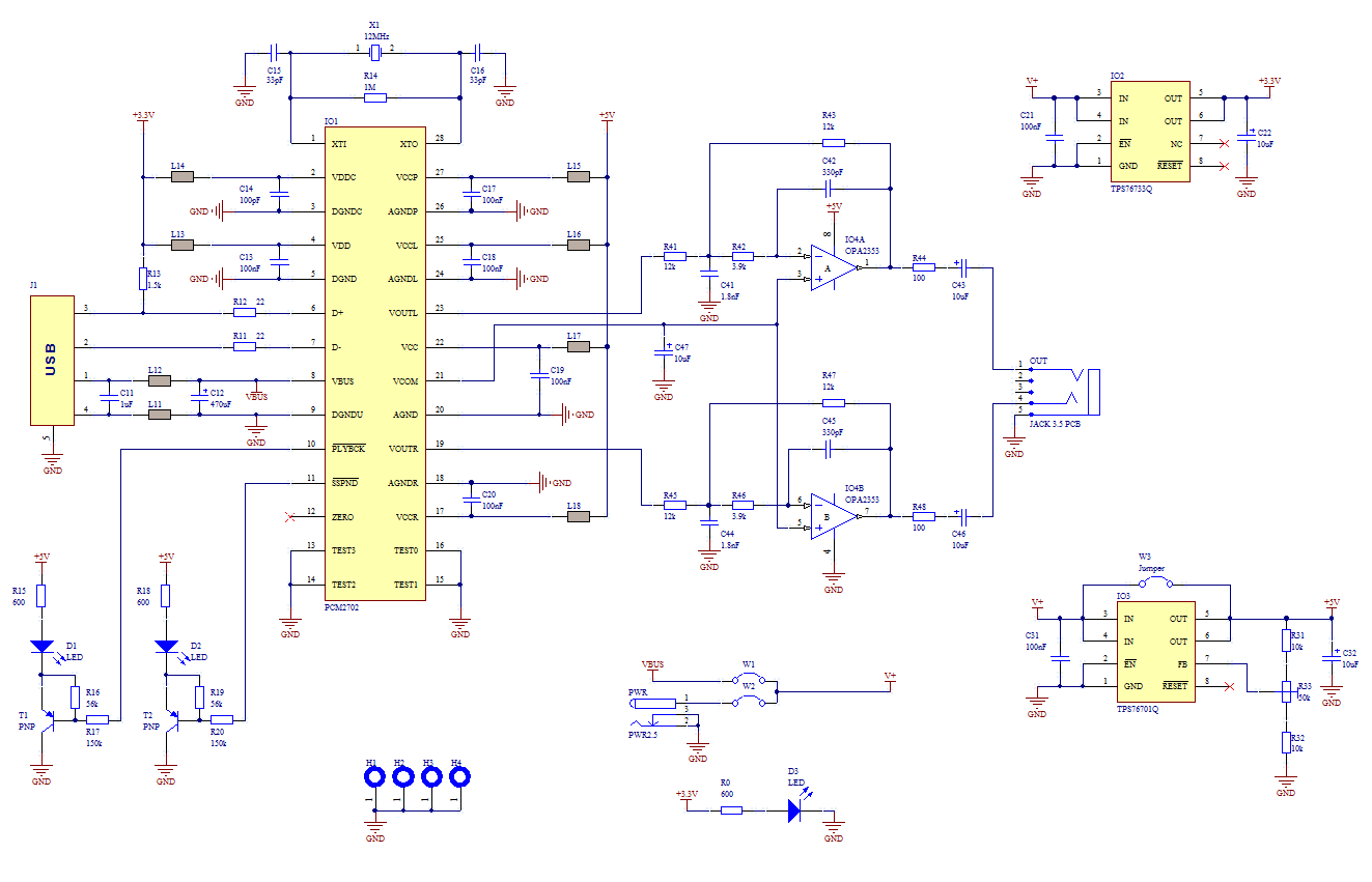 Usb Soundcard Circuit With Pcm2702 on circuit diagram drawer