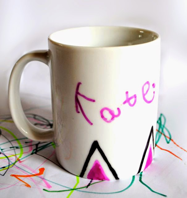 Cat ears DIY mug