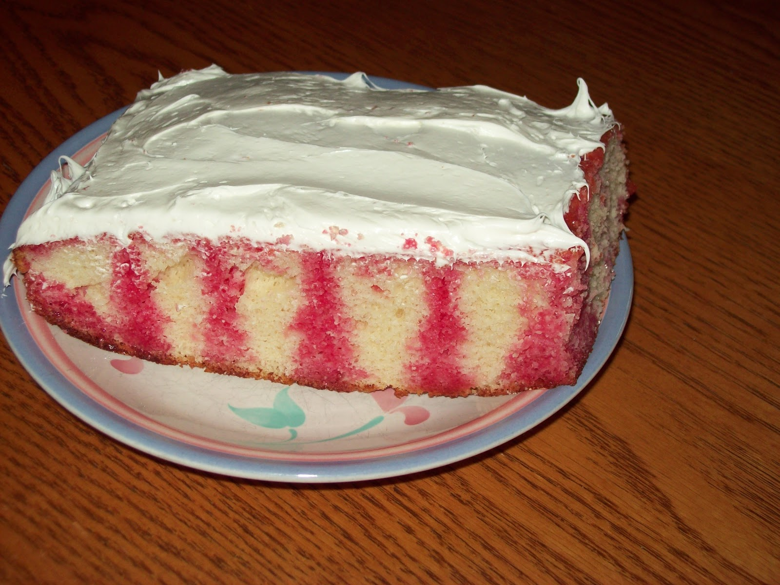 Gateau au jello