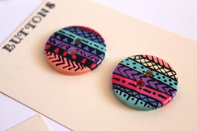 aztec buttons