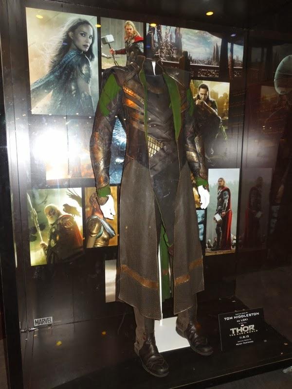 Original Loki movie costume Thor Dark World