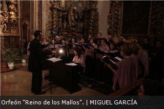Orfeón Reino de los Mallos. Iglesia de Santo Domingo. OSCANTA VII.12_11_2011