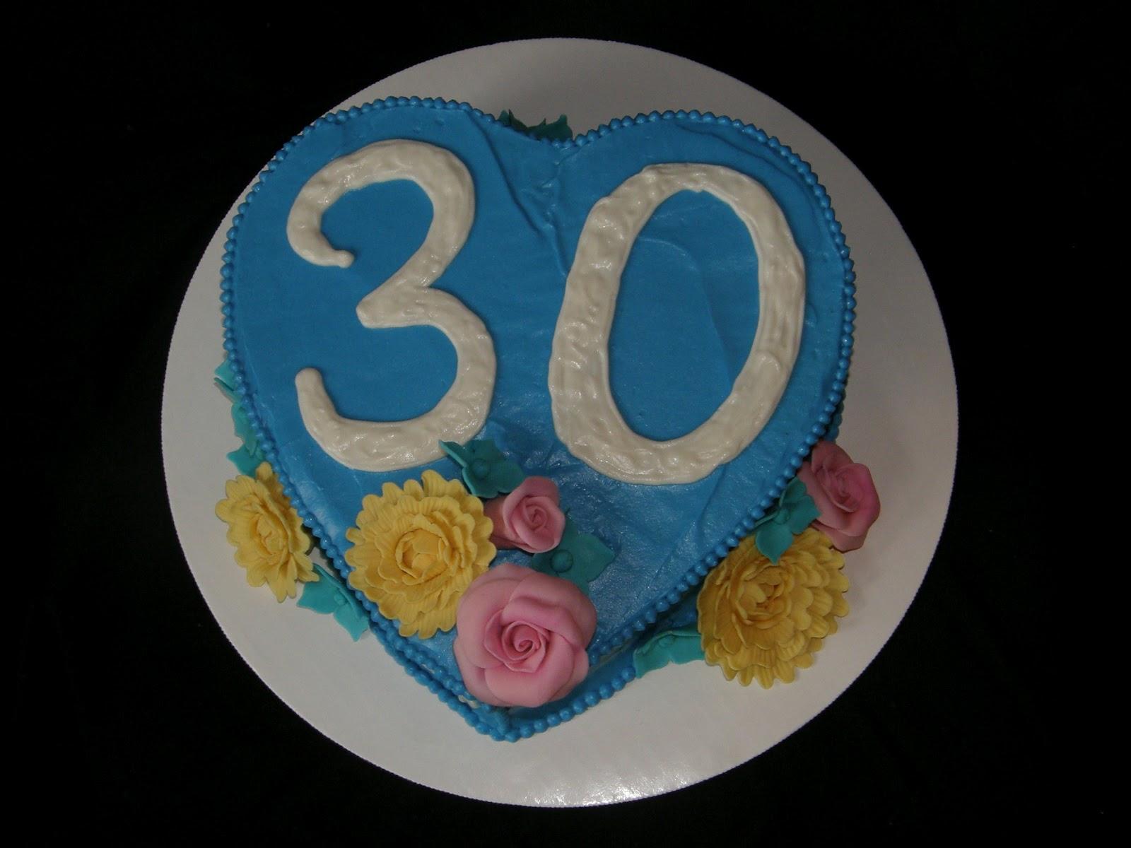 Mrs Lydias Kitchen Happy 30th Birthday