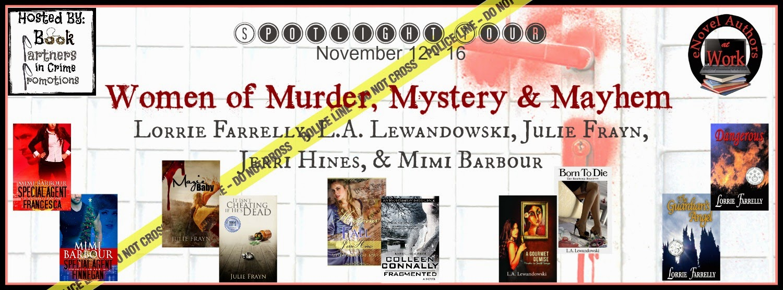 The Women of Murder, Mystery & Mayhem – Julie Frayn