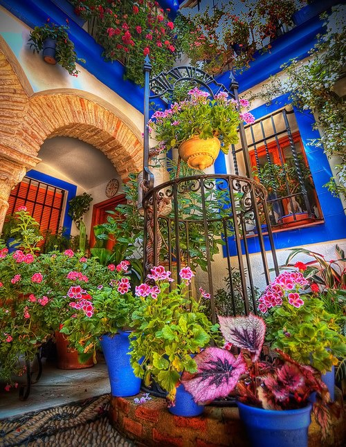 Courtyard Cordoba Spain