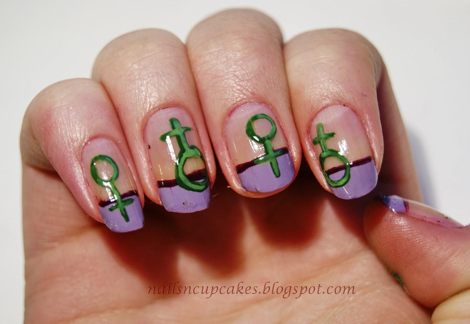 NailsN\'cupcakes: International Women\'s day nails