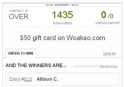 woakao winner on fashion and cookies