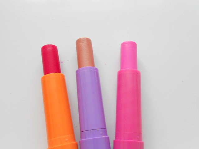 maybelline baby lips cherry me pink punch peach kiss swatch review