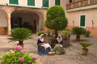 Innenhof von La Granja
