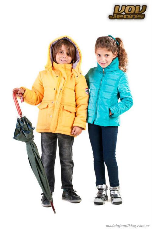 camperas infantiles invierno 2013 vov jeans
