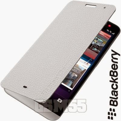Housse blanche pour BlackBerry Z30