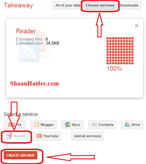 HOW TO : Backup and Transfer Google Reader Feeds to Another Feed Readers