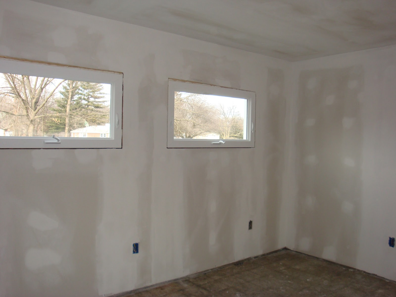 Ashley S Nest Family Room Windows And Drywall