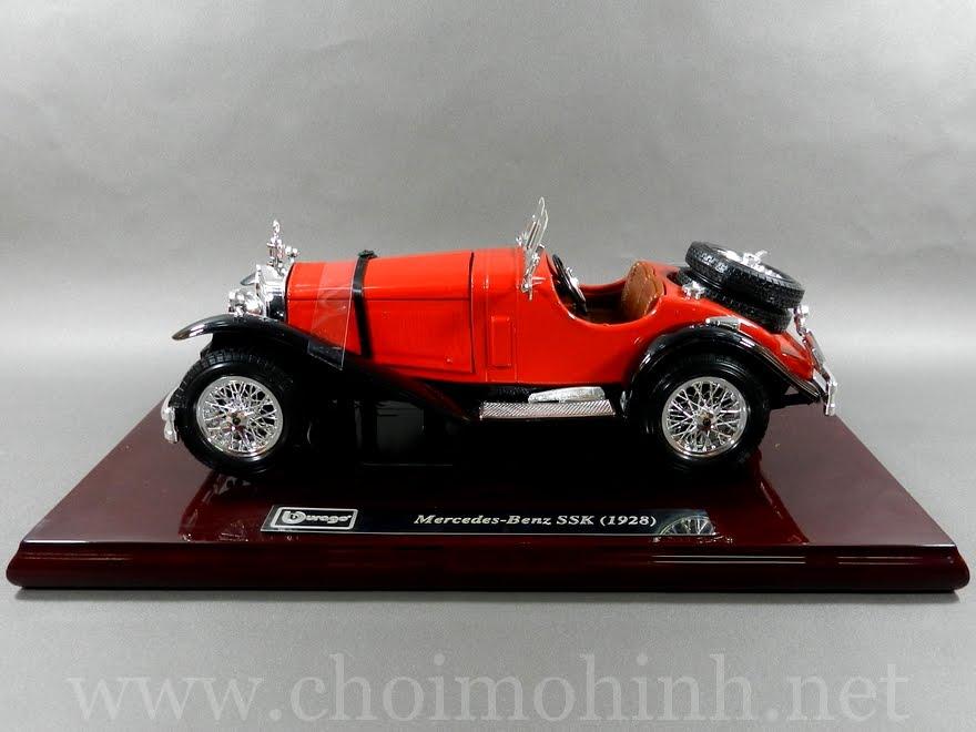 Mercedes-Benz SSK 1928 1:18 bBurago side