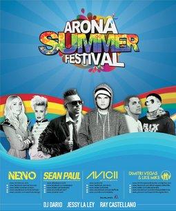 cartel arona summer festival
