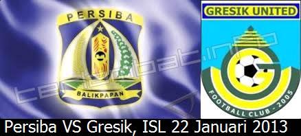 Hasil Persiba VS Gresik United ISL 2013