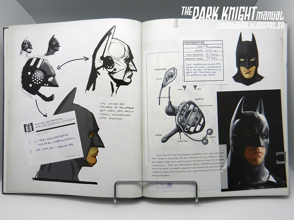 the dark knight manual tools  weapons  vehicles and the dark knight manual book dark knight manual