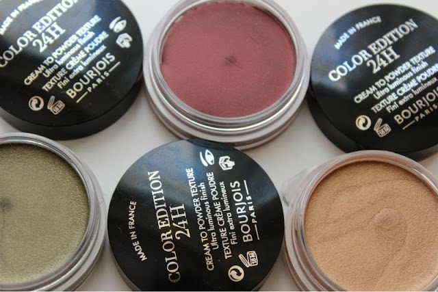 Bourjois Color Edition 24H Cream Eyeshadows