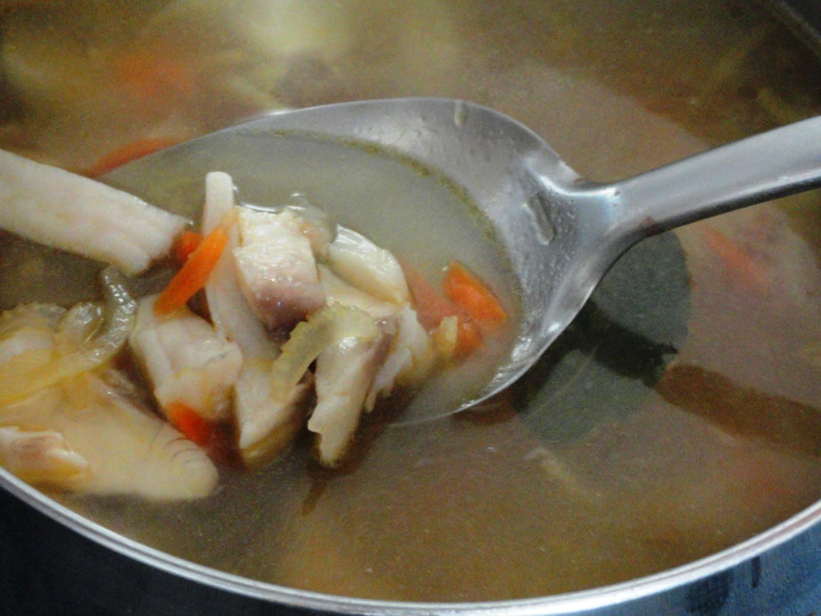 Рыбный суп из скумбрии рецепт пошагово