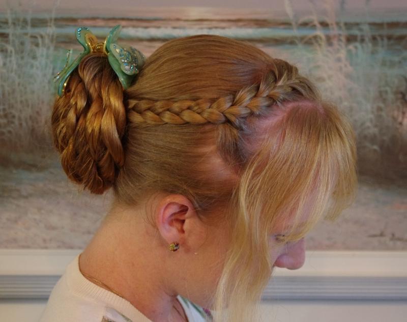 how to make a french braid headband