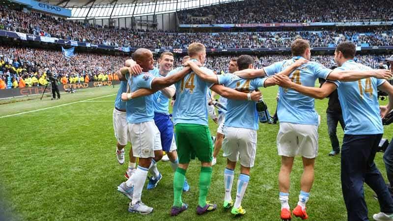 Juara Liga Inggris 2013/14, Manchester City