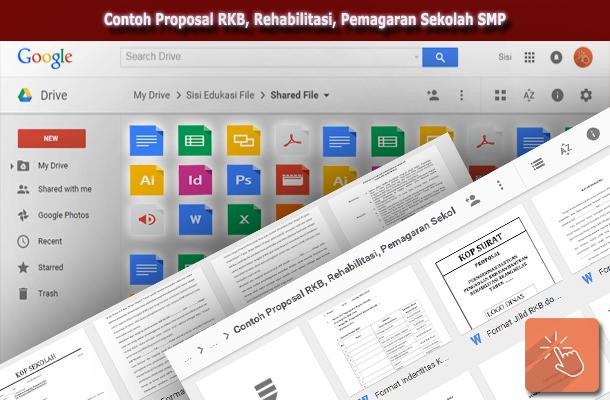 Contoh Proposal RKB, Rehabilitasi, Pemagaran Sekolah SMP