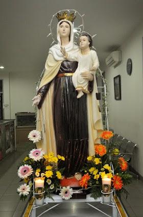 Perarakan Patung Bunda Maria - 10 Juli 2013