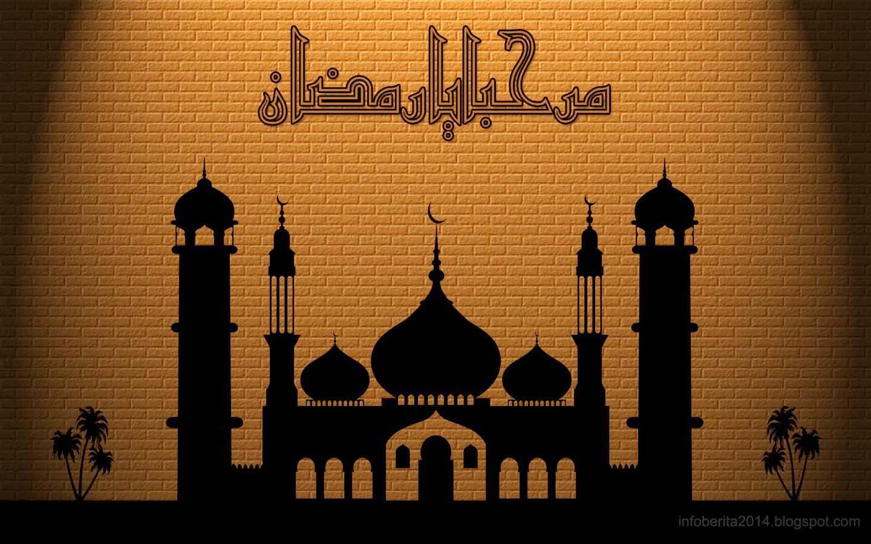 Simpel Wallpaper Kaligrafi Ramadhan